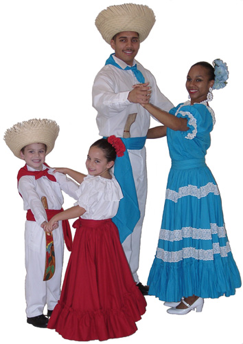 Puerto Rico Christmas Tradition.Puerto Rican Folkloric Dance Cultural Center Music